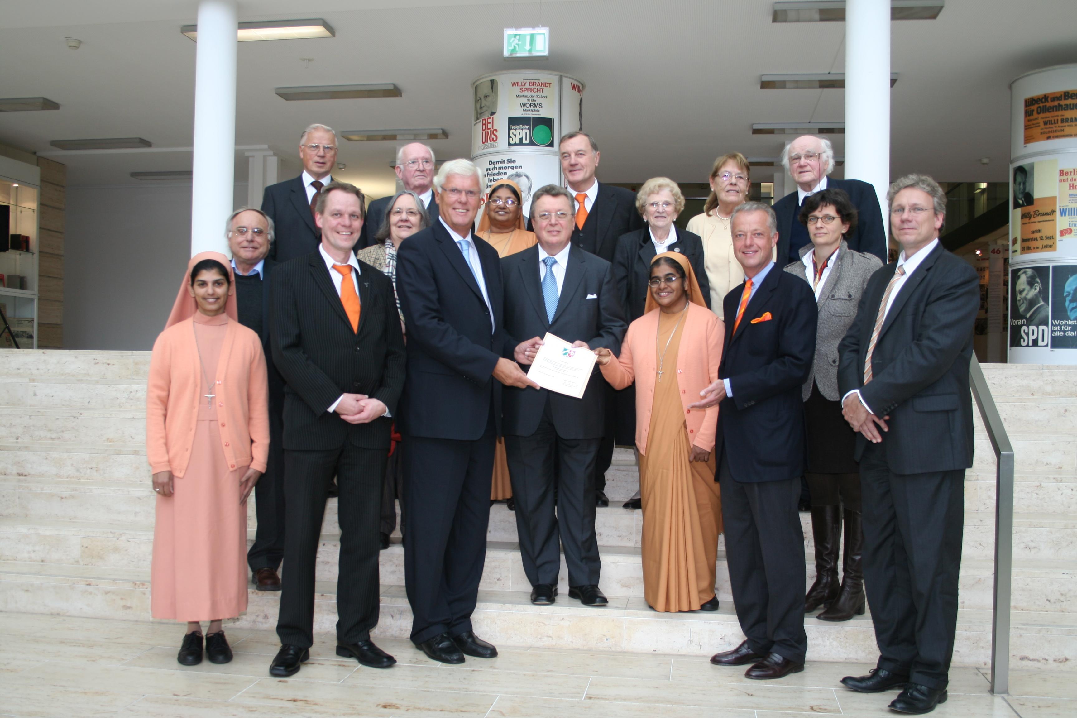 Gründung der Stiftung 2008